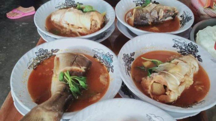 Kuliner Lampung, Nikmatnya Pindang Baung Super di Pondok Modern Tias Ragil Cafe dan Resto