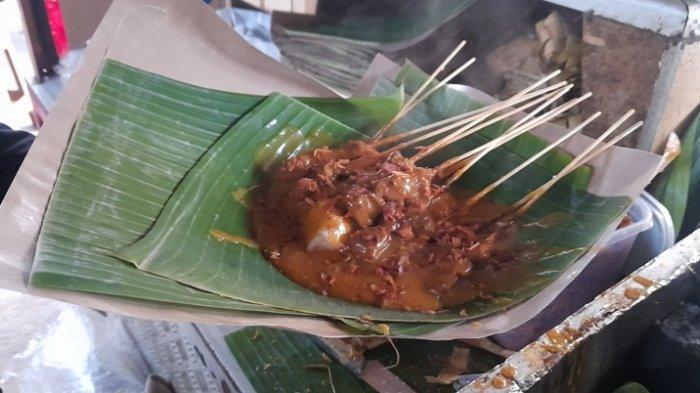 Kuliner Lampung, Nikmatnya Sate Padang Uda Pendi, Bumbunya Asli Padang