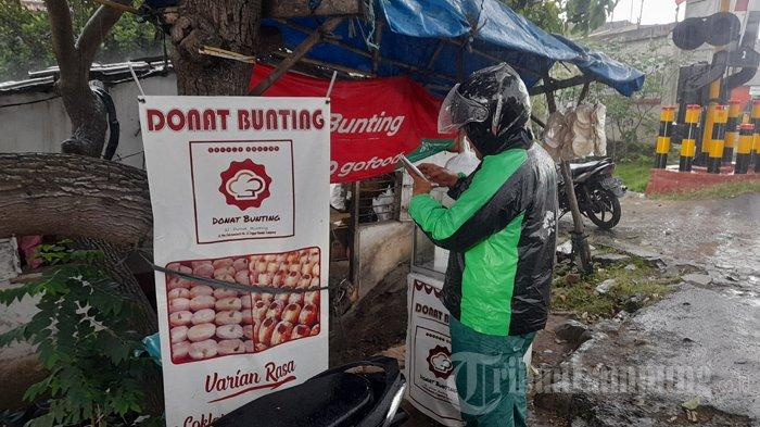 Kuliner Lampung, Pecinta Kue Donat Wajib Coba Donat Bunting Bombolini