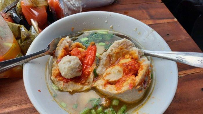Kuliner Lampung, Pedas Nikmat Bakso Lava Hot Jeletot Cuma Rp 10 Ribu per Porsi
