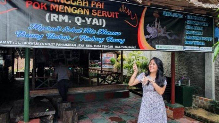 Kuliner Lampung, Rasakan Sensasi Baung Bakar Khas Tulangbawang Barat di Rumah Makan Qiay