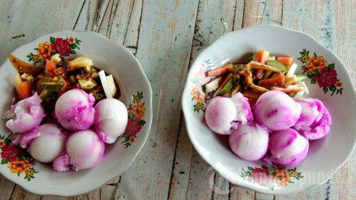Kuliner Lampung, Rujak Es Krim Kholid Tak Pakai Pemanis dan Perwarna Buatan