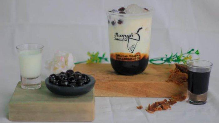 Kuliner Lampung, Rumah Snack 2 di Mesuji Sediakan 20 Varian Minuman Boba Mulai Rp 10 Ribu