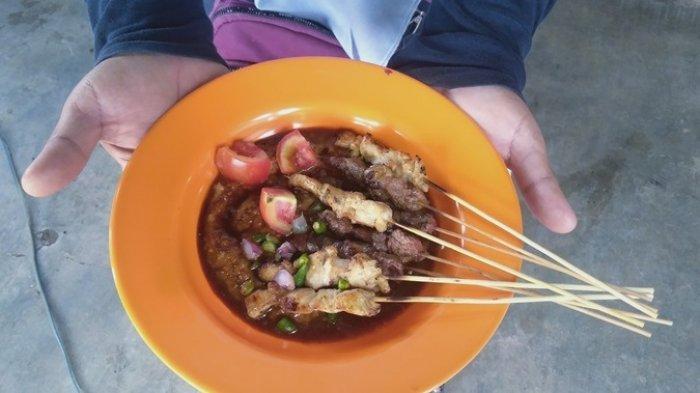 Kuliner Lampung, Sate Kambing ala Sate Telaten Mesuji Dagingnya Segar dan Empuk