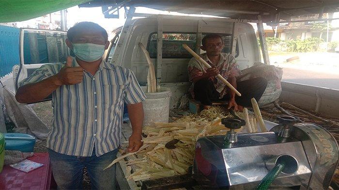 Kuliner Lampung, Segernya Es Tebu di Jalinbar Pringsewu
