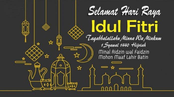 Deretan Ucapan Selamat Idul Fitri 2019, Penuh Makna dan Cocok Buat Update Status WhatsApp