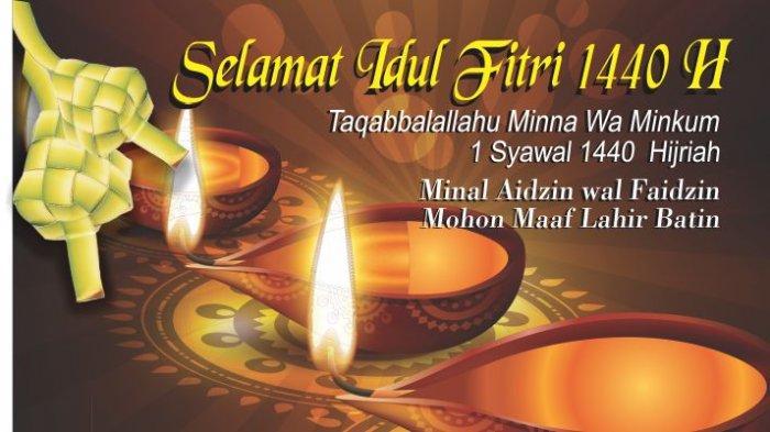 Kumpulan Ucapan Lebaran, Selamat Hari Raya Idul Fitri 2019 Cocok Dibagikan Lewat WA, IG dan FB