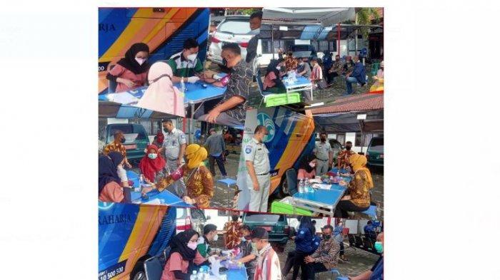 Jasa Raharja Lampung Gelar Mobil Unit Keselamatan Lalu Lintas di samsat Kalianda