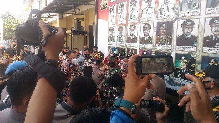 BREAKING NEWS Ketua KPK Firli Bahuri Kunjungi 2 Lembaga Penegak Hukum di Lampung