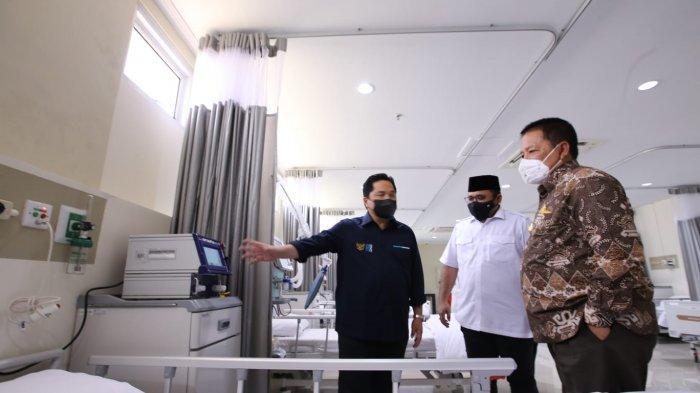 Arinal dampingi Menteri  BUMN dan Menteri Agama RI  Tinjau RS Pertamina Bintang Amin dan Asrama Haji