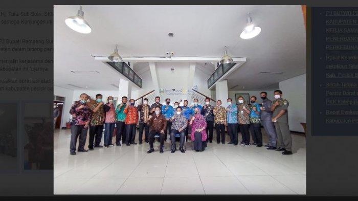 Pj Bupati Pesisir Barat Bambang Sembogo Lakukan Kunker ke Pemerintah Kabupaten Kaur
