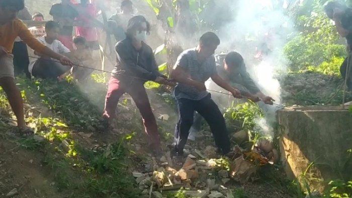 Masuk Sumur, Remaja di Bandar Lampung Terluka Kena Benturan