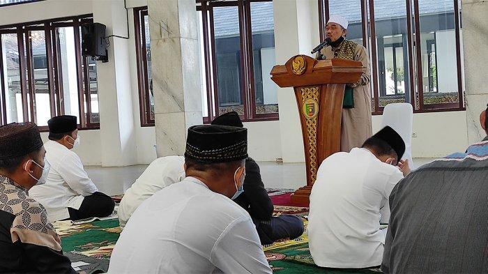 Wakil Ketua MUI Provinsi Lampung Pesan Untuk Jaga Ketaqwaan
