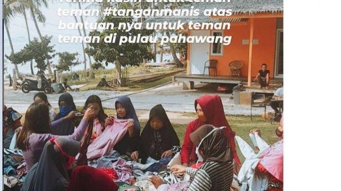 La Nadiya Villa Gelar Bakti Sosial 'Tangan Manis' di Pulau Pahawang