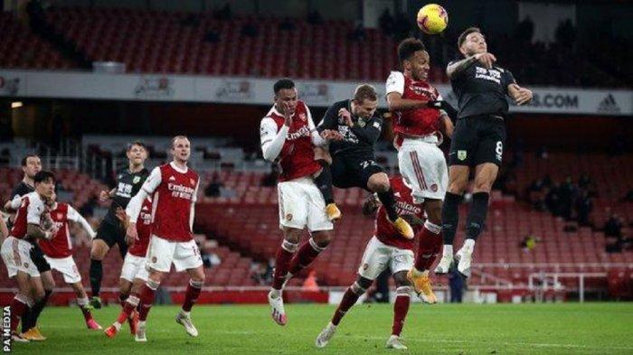 Jadwal Liga Inggris Burnley vs Arsenal, The Gunners Mulai Bangkit, The Clarets Sedang Terluka