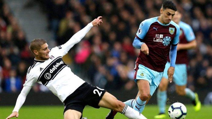 Jadwal Liga Inggris Pekan ke-25 dan Prediksi Pertandingan Burnley vs Fulham