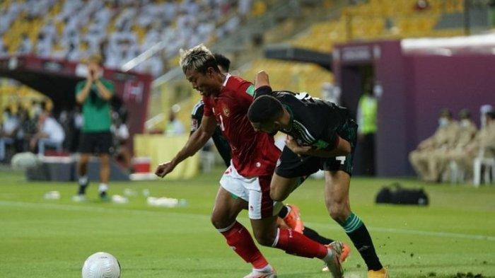 Hasil Timnas Indonesia vs UEA, Evan Dimas Gagal Penalti