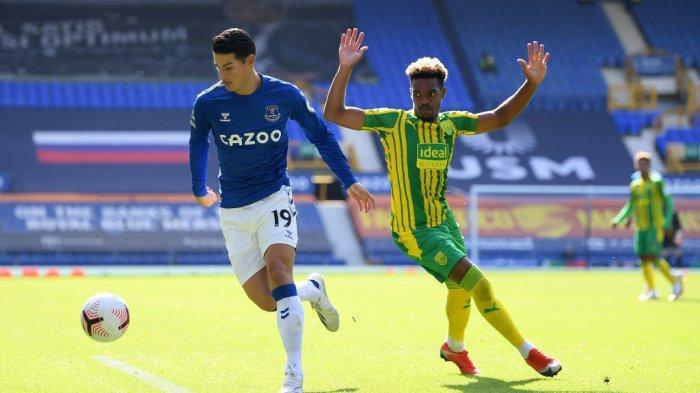 Jadwal Liga Inggris, West Brom vs Everton, Dominic Calvert dan Yerry Mina Masih Absen Bela Toffees