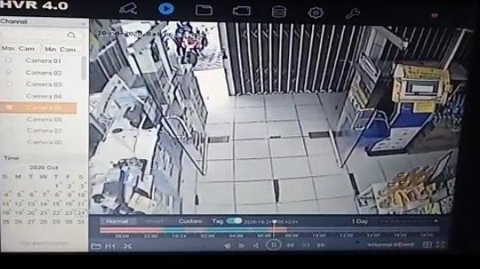 Lagi Buka Toko, Motor Honda Beat Pegawai Minimarket di Bandar Lampung Hilang Digasak Pencuri