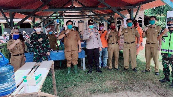 Letkol Kav M. Darwis Dandim 0429 Tinjau POS Covid-19 Desa Taman Asri
