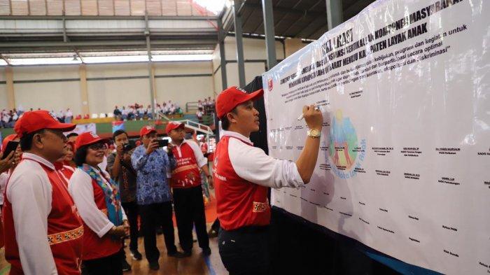 Lampung Barat Deklarasi Menuju Kabupaten Layak Anak