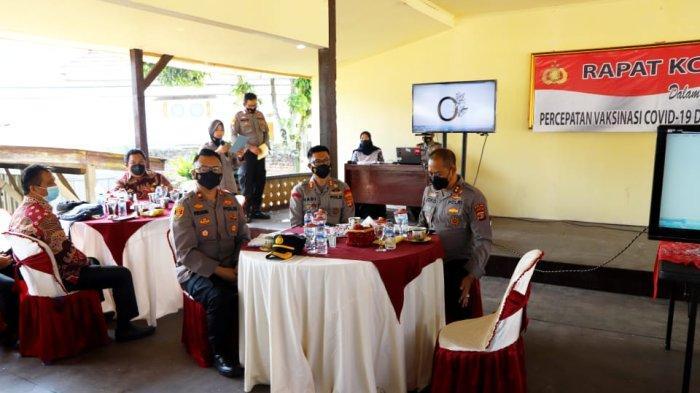 Lampung Barat dan Pesisir Barat Genjot Vaksinasi Covid-19