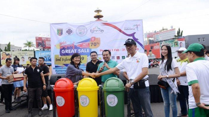 Gubernur Ridho Buka Lampung Hotel Great Sale dan Food Festival 2019