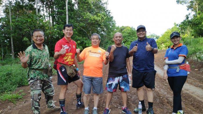 Serunya Hash Bersama Vice Master Lampung Hash House Harriers Rusli Taslim