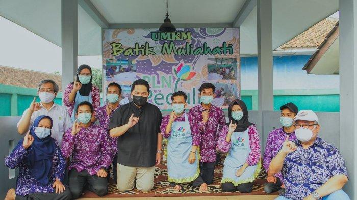 Erick Thohir Apresiasi Pemberdayaan Ratusan Anak Penyandang Disabilitas Binaan PLN di Bandung