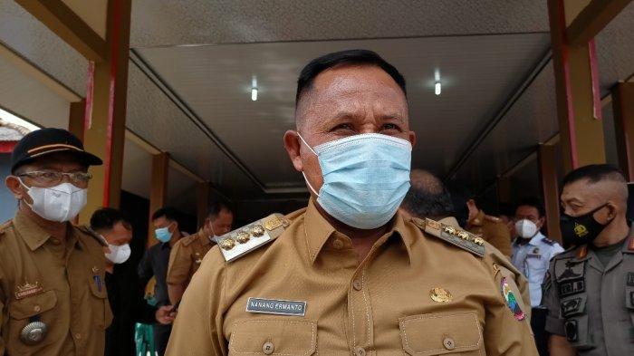 Pedagang Pasar Bakauheni Lampung Selatan Direlokasi, Nanang Ermanto: Jangan Dijadikan Rumah