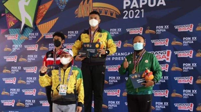 PON Papua 2021, Lampung Tambah Medali Emas dari Cabor Menembak