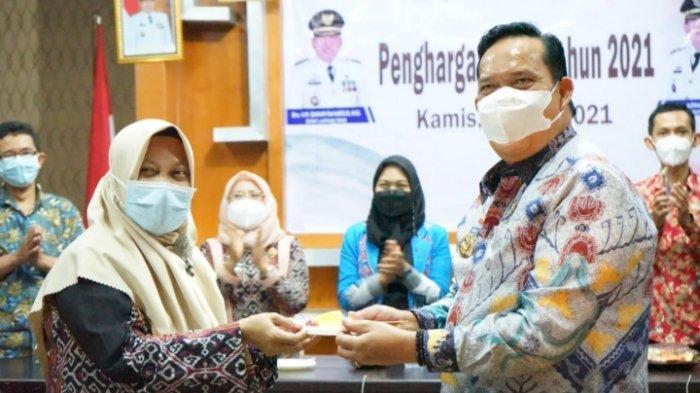 Lampung Timur Terima Penghargaan Kabupaten Layak Anak 2021
