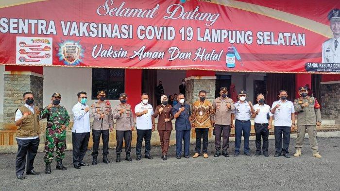Lampung Tuan Rumah Muktamar NU, Wakapolda Minta Kabupaten/Kota Gencar Program Vaksinasi