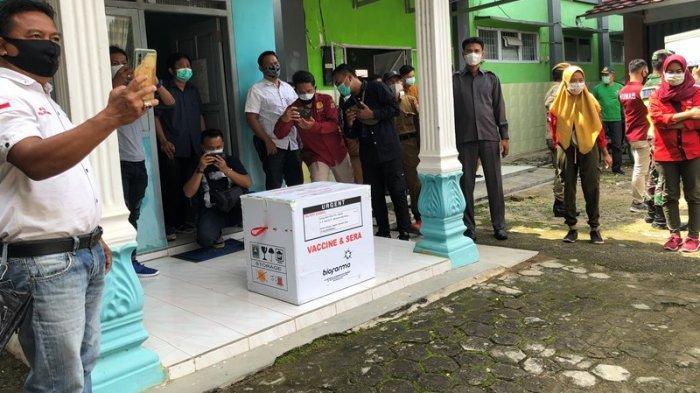 Lampung Utara Dapat 5.160 Dosis Vaksin Covid-19