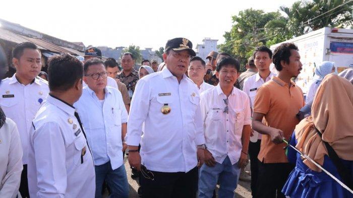 Pemerintah Provinsi Lampung Gelar Operasi Pasar Murah di Pasar Pasir Gintung