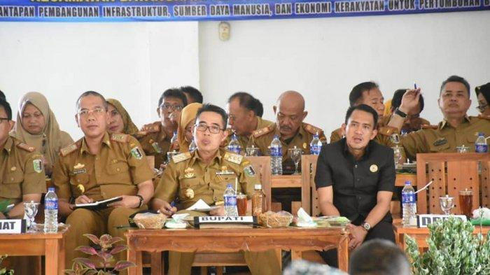 Bupati Lampung  Timur Anggarkan Rp 7,4 Miliar Perbaikan Infrastruktur Kecamatan Braja Selebah