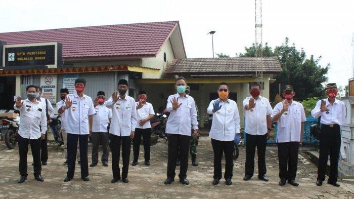 Zaiful Bokhari Hadiri Pembukaan Operasi Pasar Bersubsidi di Kecamatan Batanghari Nuban