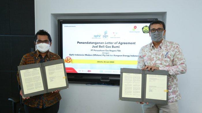 PGN Tandatanganani LoA Tahap Ketiga dengan Produsen Gas Bumi Implementasi Kepmen ESDM 89K/2020