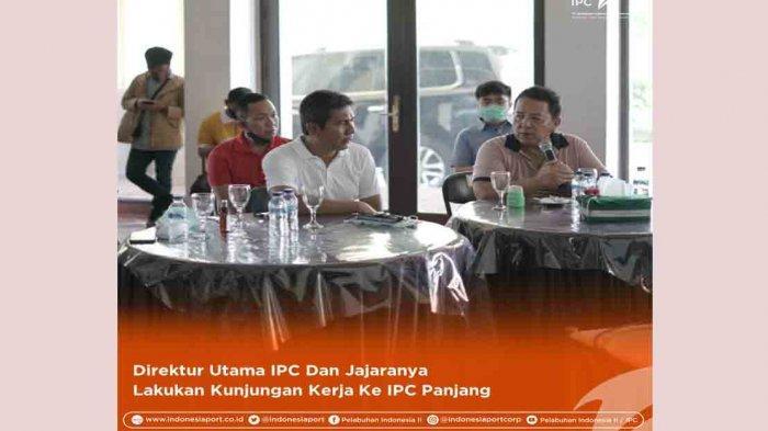 Direktur Utama IPC dan Jajarannya Lakukan Kunjungan Kerja ke IPC Panjang