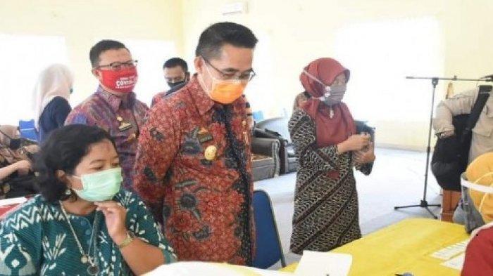 Pemerintah Kabupaten lampung Timur Gelar Rapid Test Covid-19 bagi ASN