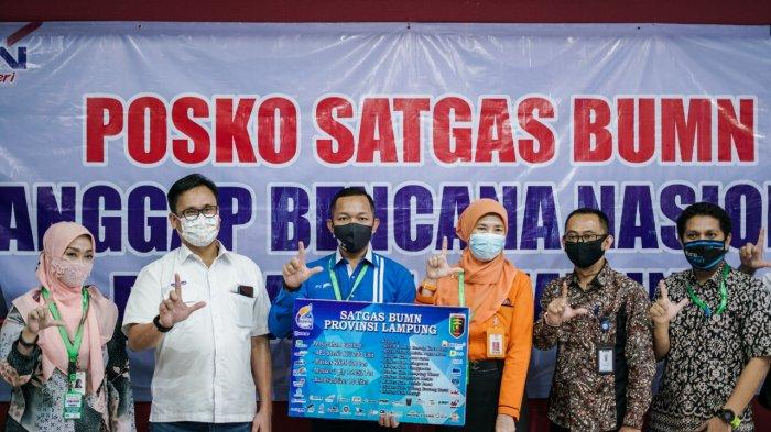 IPC Panjang Bersama Satgas BUMN Salurkan Bantuan Alat Kesehatan kepada 2 Rumah Sakit dan 8 Kabupaten