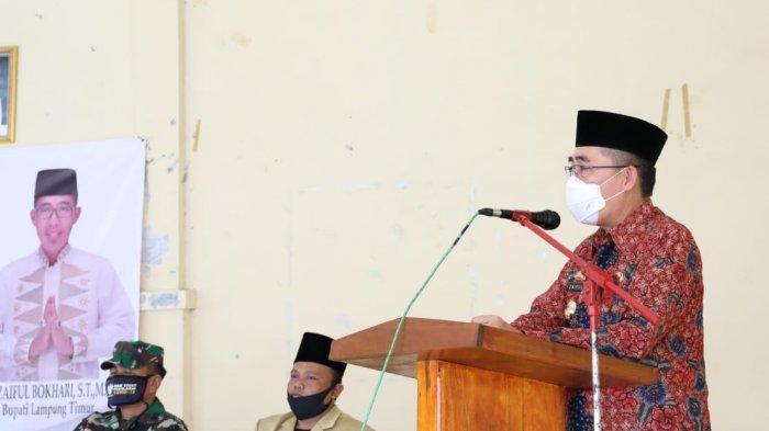 Zaiful Bokhari Hadiri Pengajian Rutin Pemerintah Kabupaten Lampung Timur