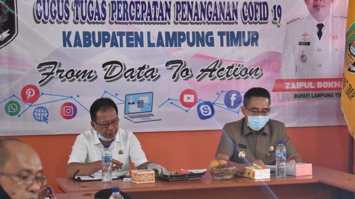 Zaiful Bokhari Terima Kunjungan dari Tim Gugus Tugas Provinsi Lampung