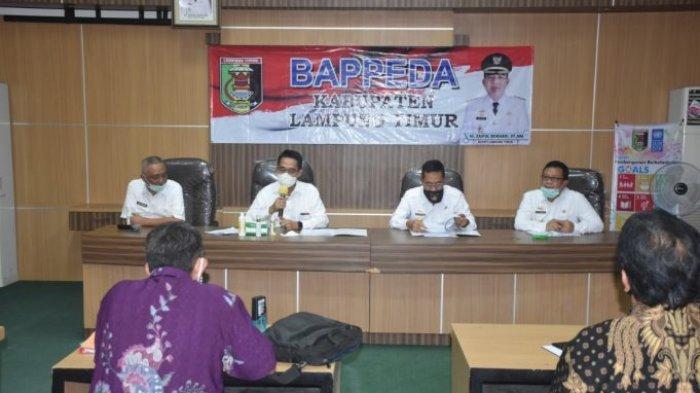 Zaiful Bokhari Pimpin Rapat Penanganan Wabah Covid-19 Kabupaten Lampung Timur