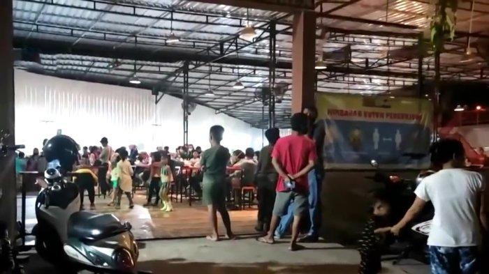 Tim Gugus Tugas Membubarkan Lomba Joget TikTok di Kafe Hilal Parepare