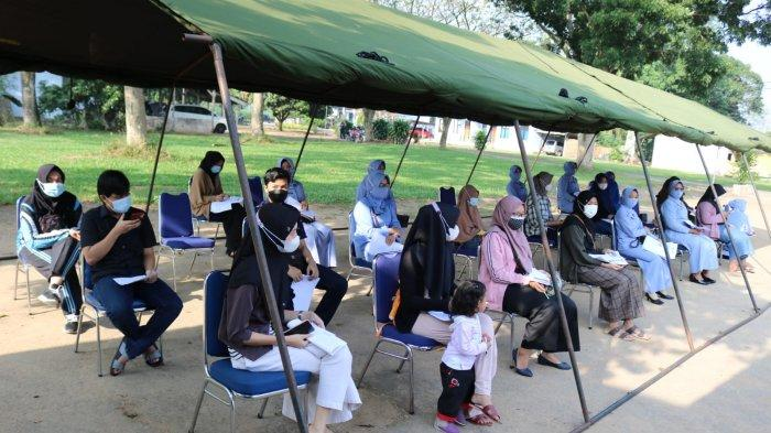 Lanud Pangeran M Bun Yamin Tuba Lampung Adakan Serbuan Vaksinasi Gratis Dosis Kedua