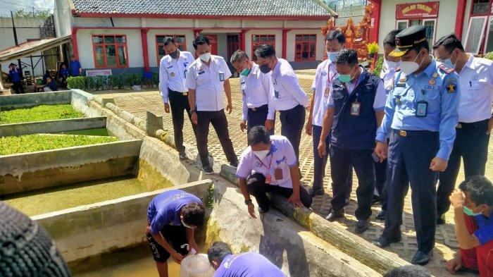 25 Warga Binaan Lapas Kelas IIB Way Kanan Ikuti Pelatihan Budidaya Ikan Lele