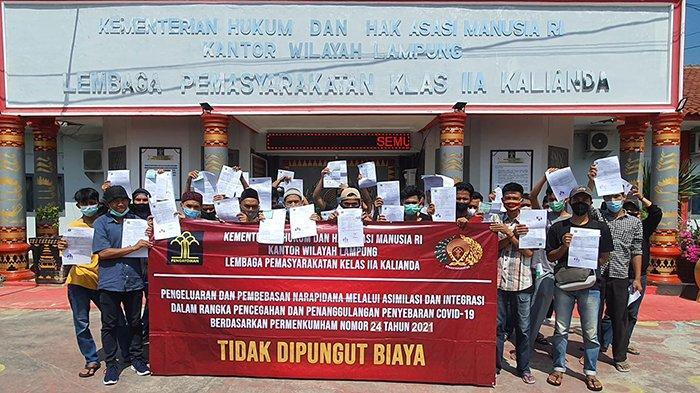 Lapas Kelas IIA Kalianda Lampung Selatan Asimilasi 30 Warga Binaan