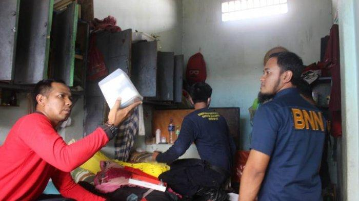 Razia di Lapas Kota Metro, Petugas BNN Temukan Alat Isap Sabu dan 23 Unit Handphone