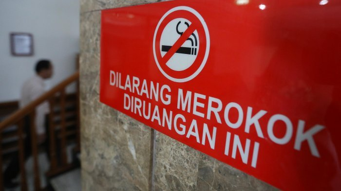 Merokok di Kawasan Ini Siap-siap Didenda Rp 50 Ribu, Penjual Rp 500 Ribu